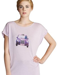 Ted Baker Designer Night Out T Shirt Light Purple