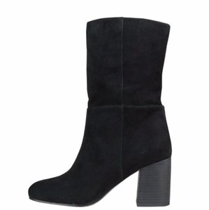 Eileen Fisher black suede Boots