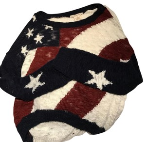 Coincidence & Chance American Flag July Comfy Sweater