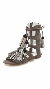 Jeffrey Campbell Grey Sandals
