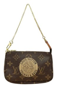 Louis Vuitton Neverfull Clutch Pouchette Trunks Wristlet