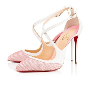 Christian Louboutin Crissos 110mm 4.5inches New white Pumps