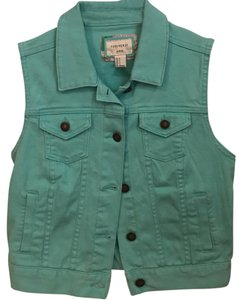 Forever 21 New Mint Trendy Spring Vest