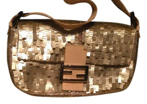 Fendi beige Clutch