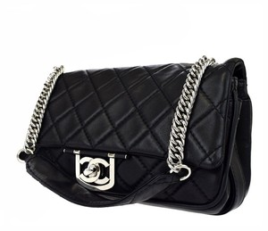 Chanel Matelasse Maxi Le Boy Graffiti Caviar Shoulder Bag