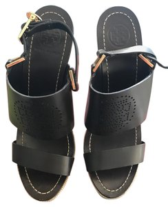 Tory Burch Coconut (brown) chocolate brown Wedges
