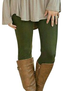 Infinity Raine Olive Green Leggings
