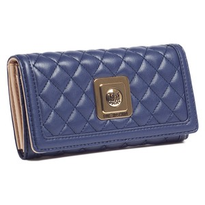 Moschino Moschino Navy Blue Compact Envelope Wallet