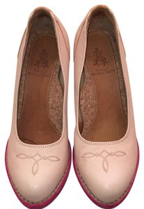 The Office of Angela Scott pink/blush Pumps