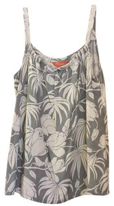 Tommy Bahama Top Grey and Tan