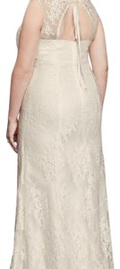 Galina Brand New Lace V-neck Empire Waist Wedding Dress