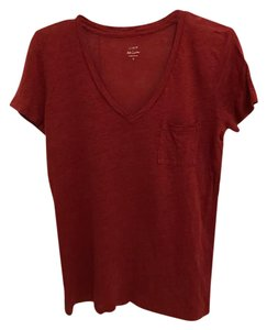 J.Crew T Shirt red