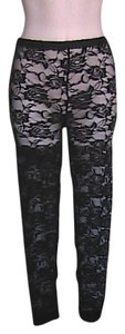 Other Lace Jeggings-Light Wash