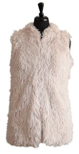 Say What? Faux Fur Fur Sleeveless Vest
