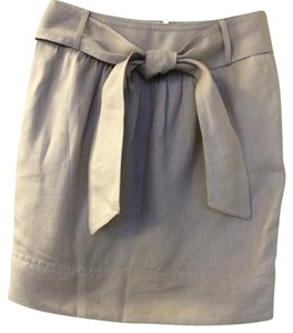 Banana Republic Mini Skirt Beige