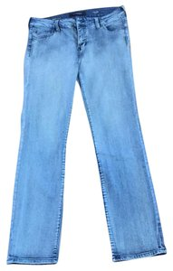 Liverpool Jeans Company Straight Leg Jeans-Light Wash