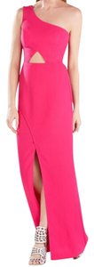 BCBGMAXAZRIA Cut-out Gown Prom One Shoulder Couture Dress