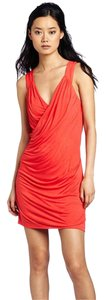 Velvet by Graham & Spencer short dress coral on Tradesy