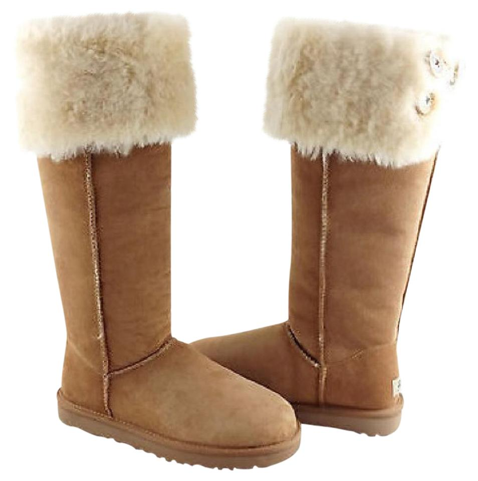472778fef5a UGG Australia Chestnut Bailey Button Over Knee Boots/Booties Size US 6  Regular (M, B) 27% off retail