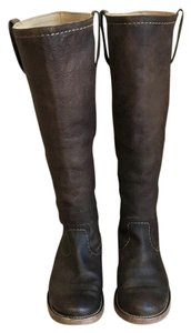 Frye Leather Equestrian Riding Brown Boots