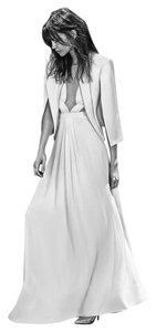 BCBGMAXAZRIA Bcbg Gabriele Wedding Sheer Bodice Dress