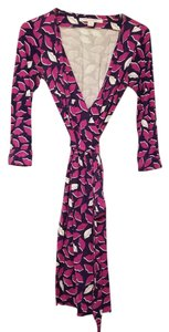 Diane von Furstenberg short dress French kiss peony on Tradesy