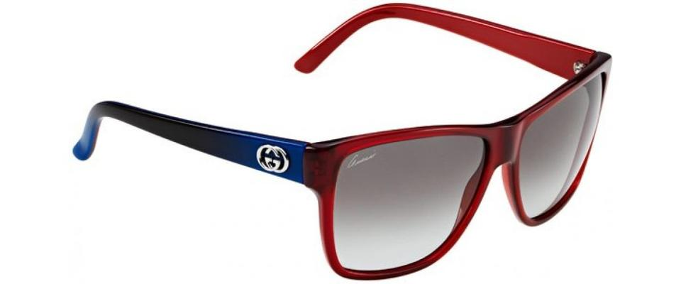 ba35492b68d51 Gucci Transparent Red Blue  Grey Gradient Men s Gg 3579 S L53 Ye ...