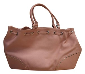 Furla Leather Large Tote in Pink