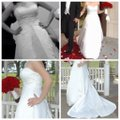 Maggie Sottero White Couture Gown Formal Wedding Dress Size 12 (L) Image 4
