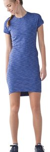 Lululemon short dress blue heathered on Tradesy