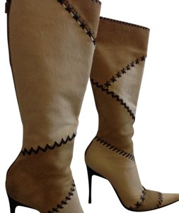 Casadei cream and beige Boots