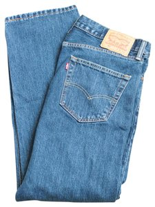 Levi's Men's 505 Straight Leg Jeans-Medium Wash