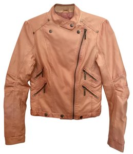 Forever 21 21 Faux Leather Leather Pink Jacket