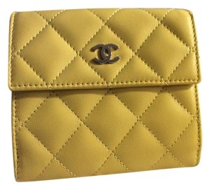 Chanel S-Double Yellow Wallet
