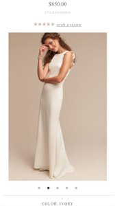 BHLDN Wedding Dress By Bhldn Heather Gown Wedding Dress