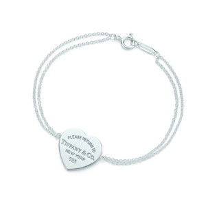 Tiffany & Co. T&Co Heart tag bracelet