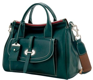 Dooney & Bourke Tote Handbag Leather Satchel in Green