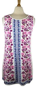 Max Studio short dress Pink, Blue, White on Tradesy
