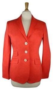 Ralph Lauren Blue Label Orange Blazer
