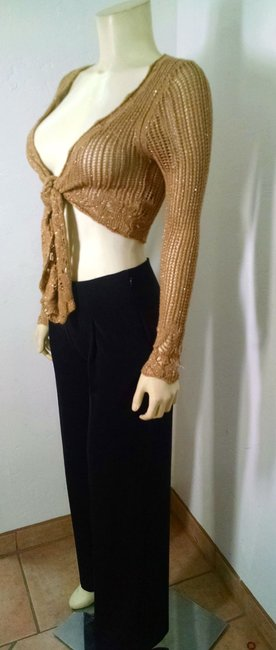XOXO Cropped Long Sleeves Knit P1291 Cardigan