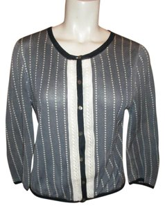 Orla Kiely Cotton 3/4 Sleeve Cardigan