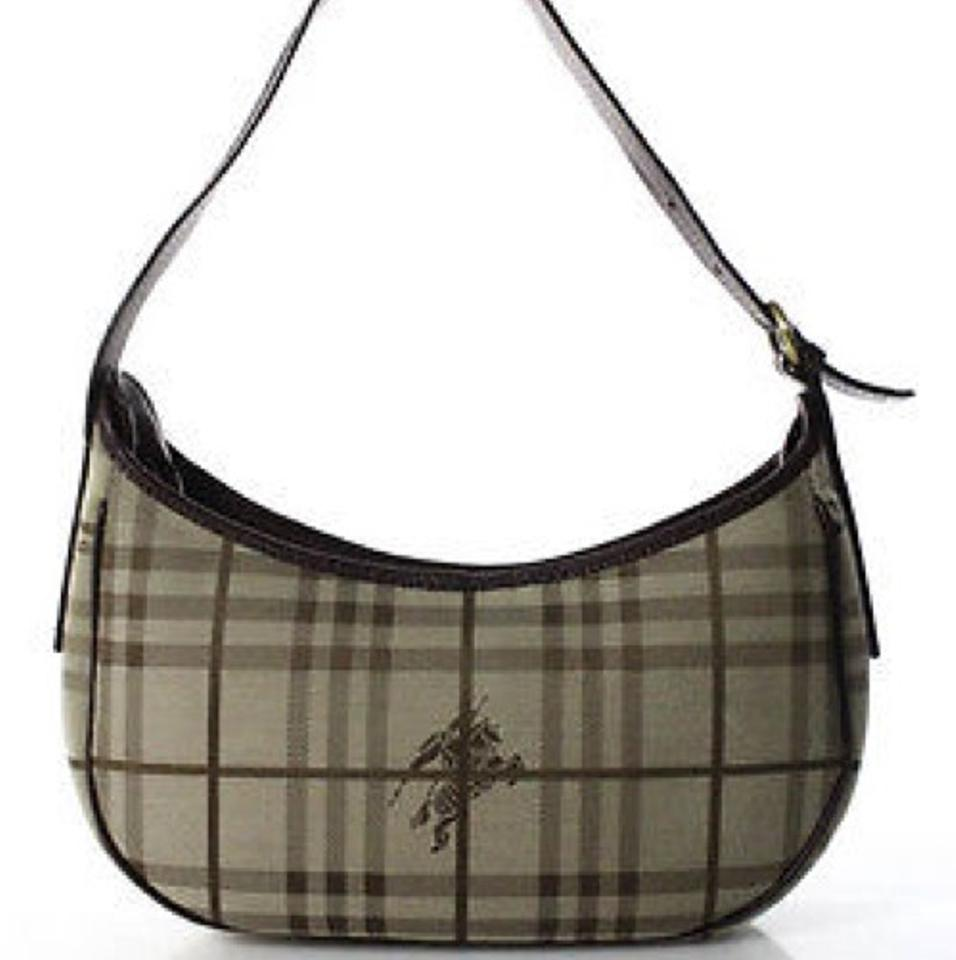 23536f2b941d Burberry (3-day Sale) Leather Canvas Shoulder Bag - Tradesy