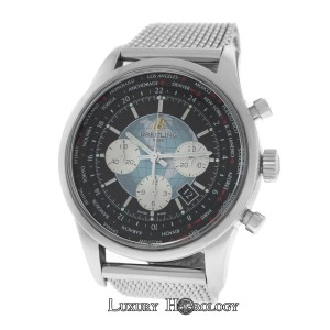 Breitling Breitling Transocean Unitime AB0510 Chronograph Steel Date Automatic