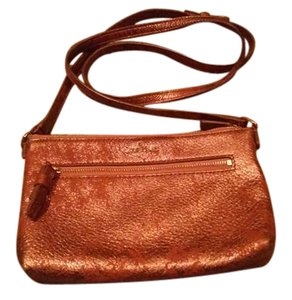 Cole Haan Leather Gold Hardware Casual Classic Cross Body Bag