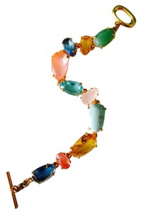 Ralph Lauren Multi-Gemstone Scattered Gold Bracelet