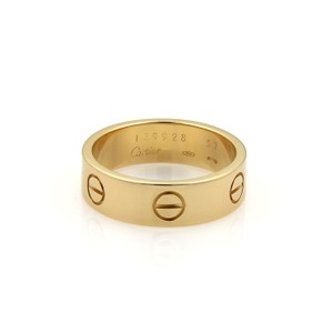Cartier Cartier Love 18k Yellow Gold 5.5mm Wide Band Ring