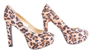 Mossimo Supply Co. Platform & Animal Print Orange | Black Pumps