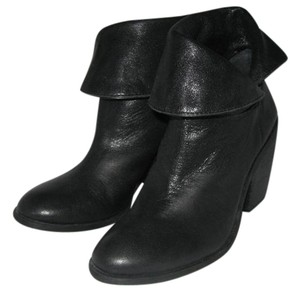 Lucky Brand Leather Black Boots