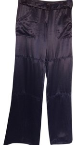 Maria Bianca Nero Cargo Pants Black Satiny