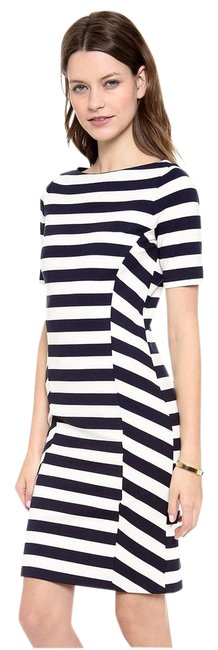Item - Navy and Ivory Augusta Long Short Casual Dress Size 12 (L)